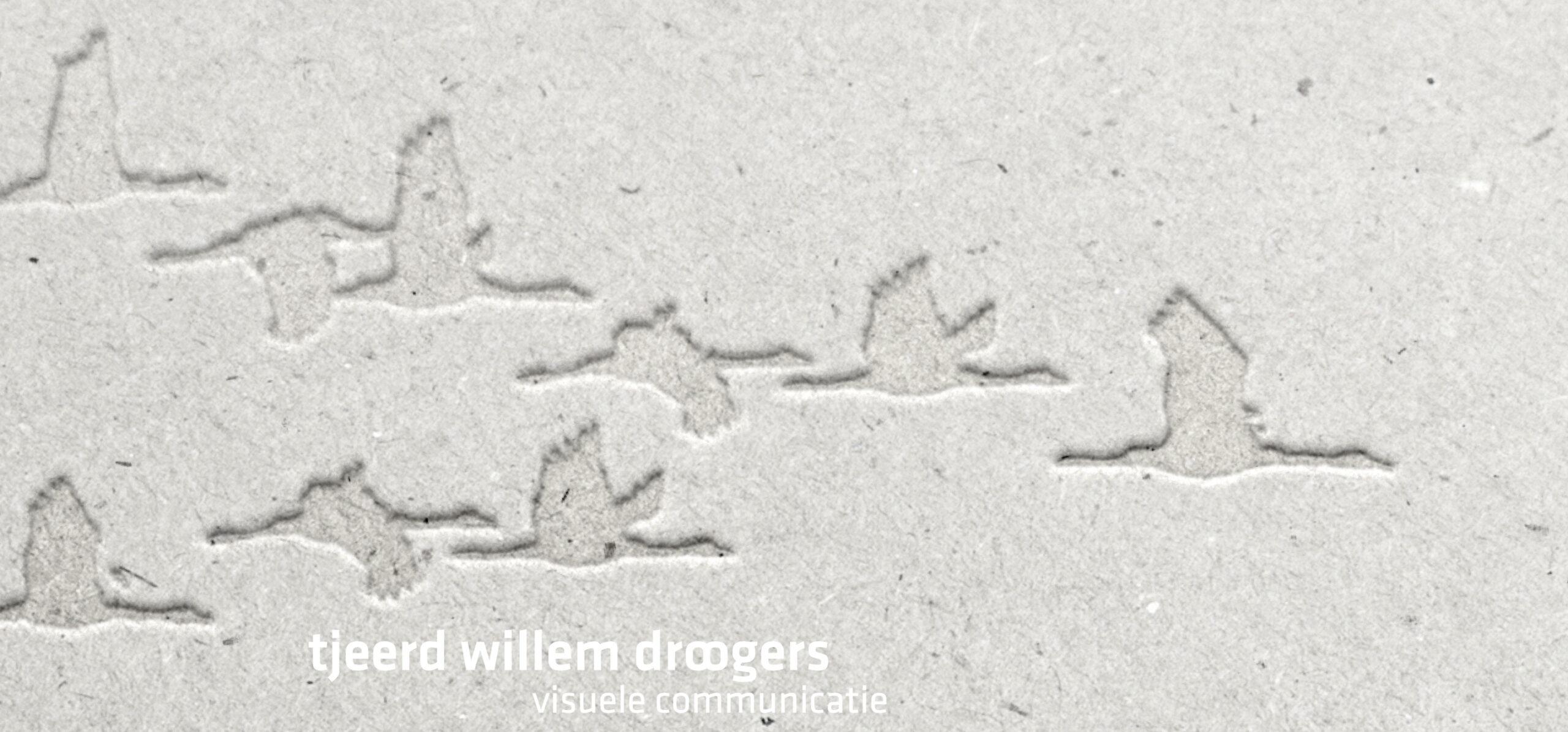 Tjeerd Willem Droogers visuele communicatie